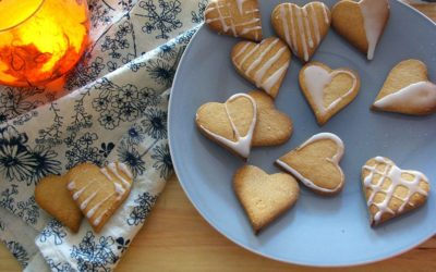 Easy, gluten-free Gingerbread biscuits