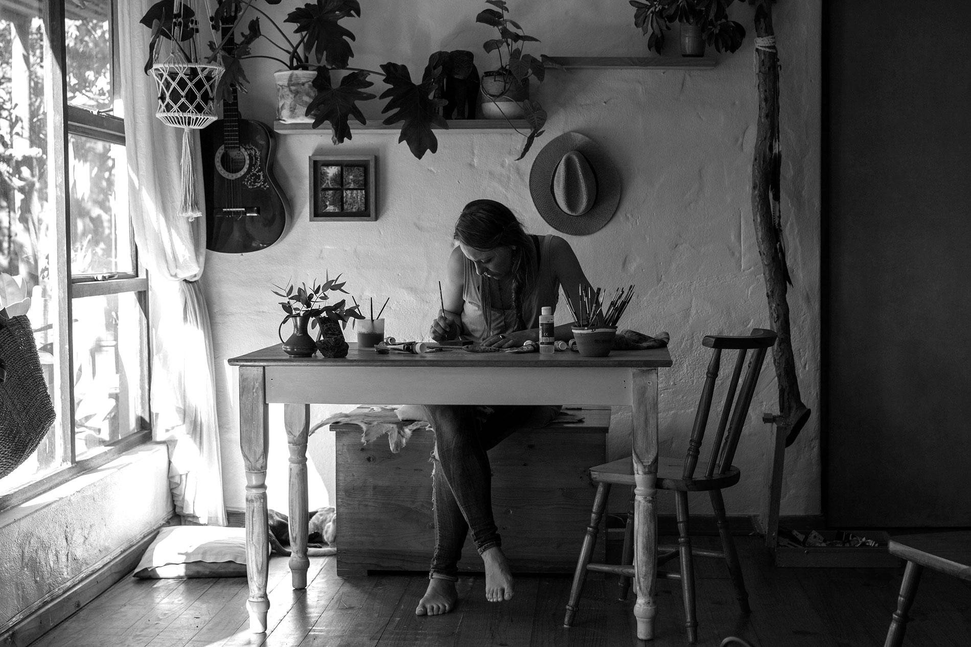 Andrea Fedder artist writer